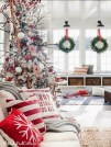 Stylish Christmas Decoration Ideas Living Room27