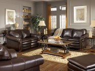 Unordinary Living Room Designs Ideas With Combinations Of Brown Color05