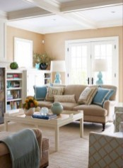 Unordinary Living Room Designs Ideas With Combinations Of Brown Color18