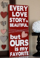 Affordable Outdoors And Indoors Signs Ideas For Valentines Day25