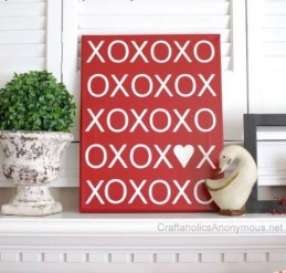 Affordable Outdoors And Indoors Signs Ideas For Valentines Day27
