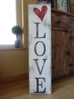 Affordable Outdoors And Indoors Signs Ideas For Valentines Day44