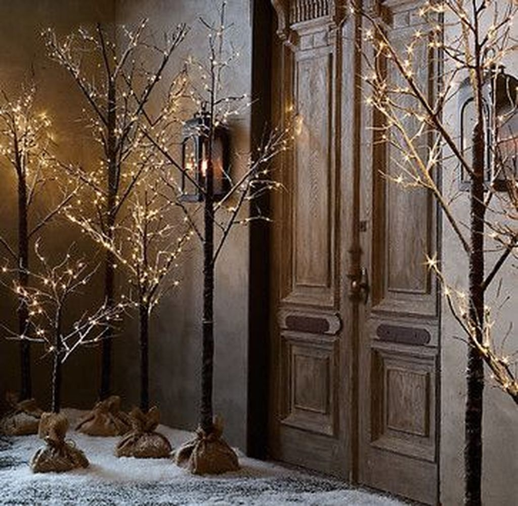Awesome Outdoor Winter Decoration Ideas24