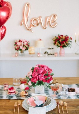 Best Décor Ideas For A Valentine'S Day Party24