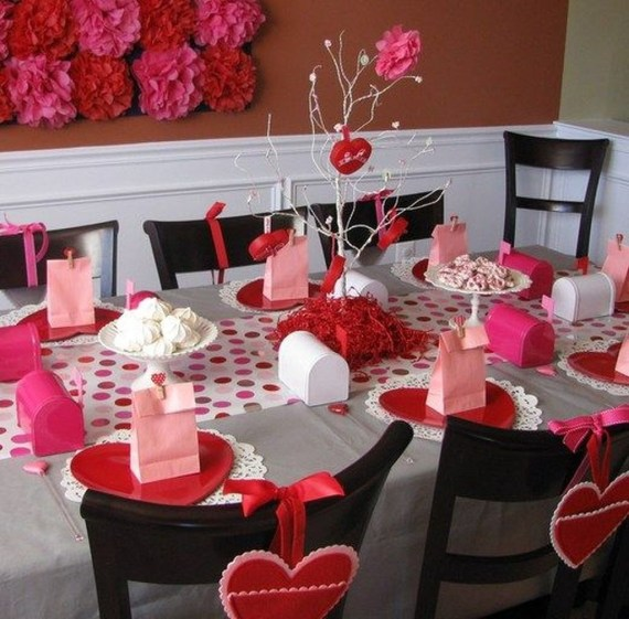 Best Décor Ideas For A Valentine'S Day Party46