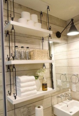 Cheap Bathroom Remodel Organization Ideas33