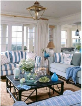 Creative Fresh Lake House Living Room Decoration Ideas27