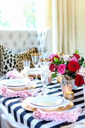 Elegant Table Settings Design Ideas For Valentines Day23