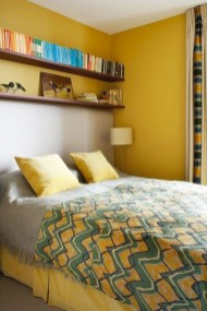 Perfect Yellow Bedroom Decoration And Design Ideas06