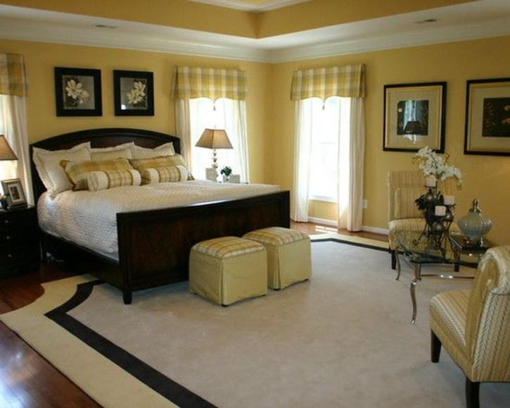 Perfect Yellow Bedroom Decoration And Design Ideas09