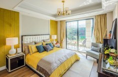 Perfect Yellow Bedroom Decoration And Design Ideas13