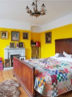 Perfect Yellow Bedroom Decoration And Design Ideas19