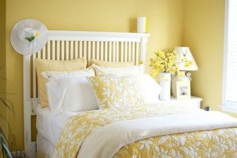 Perfect Yellow Bedroom Decoration And Design Ideas26
