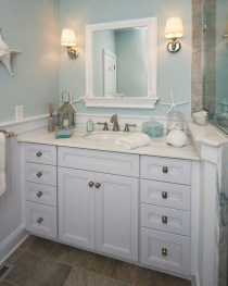 Stunning Coastal Style Bathroom Designs Ideas16