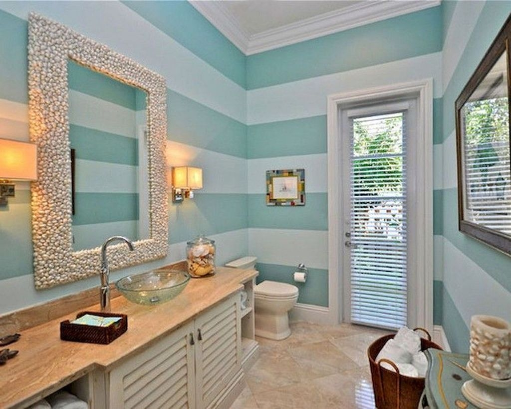 Stunning Coastal Style Bathroom Designs Ideas30