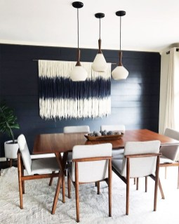 Cool Mid Century Dining Room Table Ideas06