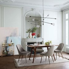 Cool Mid Century Dining Room Table Ideas23