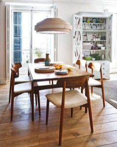 Cool Mid Century Dining Room Table Ideas27