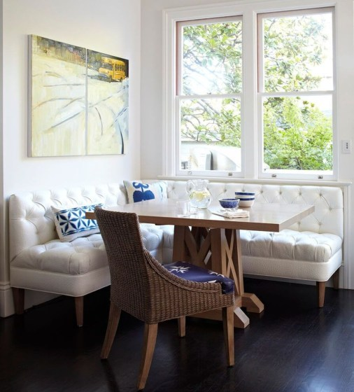 Creative Banquette Seating Ideas For Kitchen12