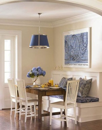 Creative Banquette Seating Ideas For Kitchen22