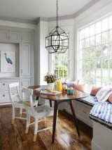 Creative Banquette Seating Ideas For Kitchen27