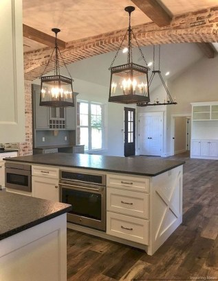 Elegant Farmhouse Kitchen Design Decor Ideas08