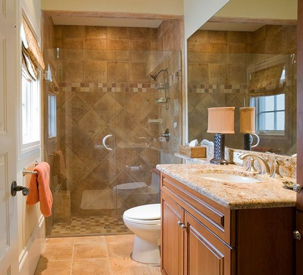 Incredible Curbless Shower Ideas For House15