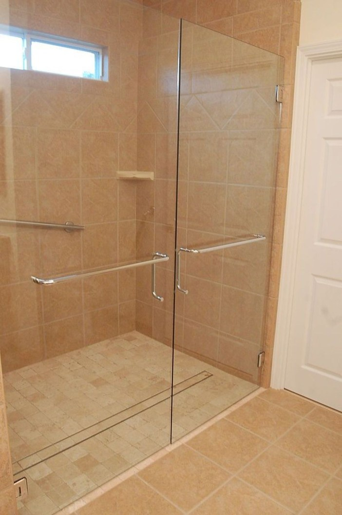 Incredible Curbless Shower Ideas For House35