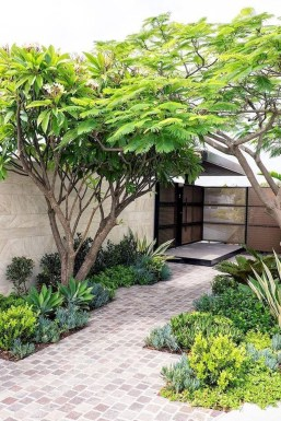 Inexpensive Front Yard Landscaping Ideas42