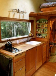 Lovely Tiny House Kitchen Storage Ideas22