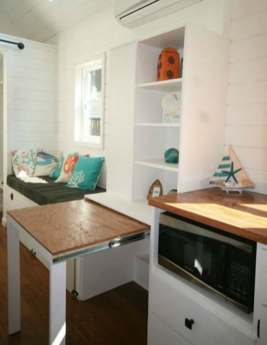 Lovely Tiny House Kitchen Storage Ideas34