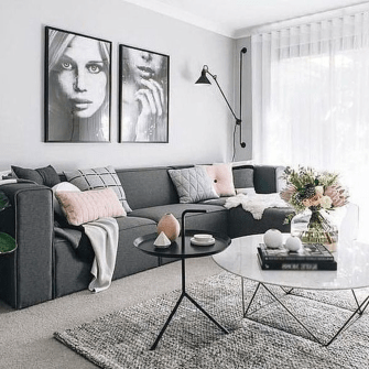 Stylish Small Living Room Decor Ideas On A Budget11