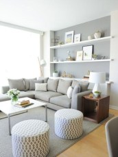 Stylish Small Living Room Decor Ideas On A Budget25