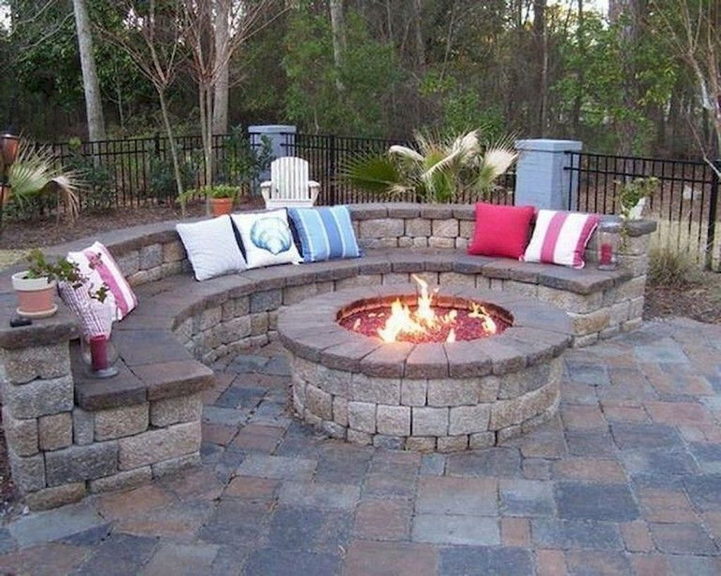 Unordinary Diy Fire Pit Ideas Backyard Landscaping15
