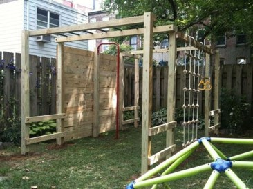 Wonderful Diy Playground Project Ideas For Backyard Landscaping24