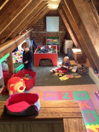 Affordable Attic Kids Room Decor Ideas20