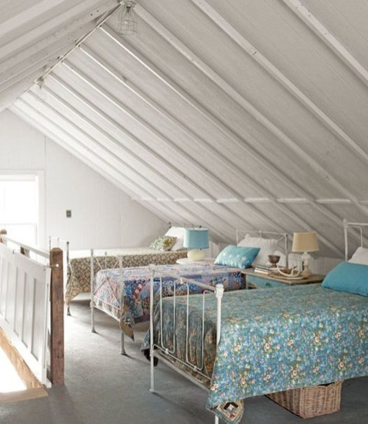 Affordable Attic Kids Room Decor Ideas33