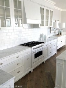 Captivating White Cabinets Design Ideas For Kitchen04