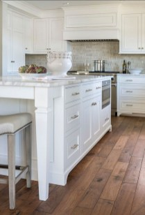 Captivating White Cabinets Design Ideas For Kitchen12