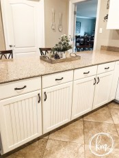 Captivating White Cabinets Design Ideas For Kitchen14