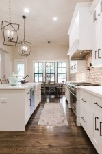 Captivating White Cabinets Design Ideas For Kitchen27