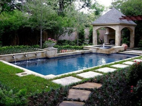 Comfy Mediterranean Swimming Pool Designs Ideas01