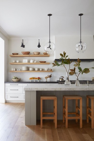 Relaxing Midcentury Decorating Ideas For Kitchen08