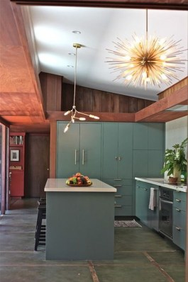 Relaxing Midcentury Decorating Ideas For Kitchen16