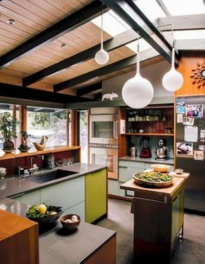 Relaxing Midcentury Decorating Ideas For Kitchen32