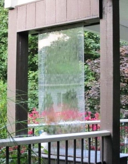 Stylish Outdoor Water Walls Ideas For Backyard44