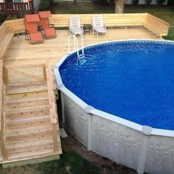 Affordable Ground Pool Landscaping Ideas06