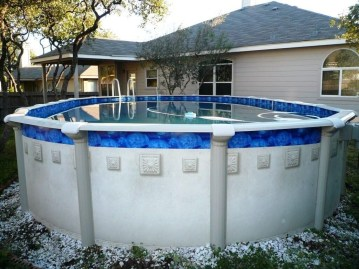 Affordable Ground Pool Landscaping Ideas07
