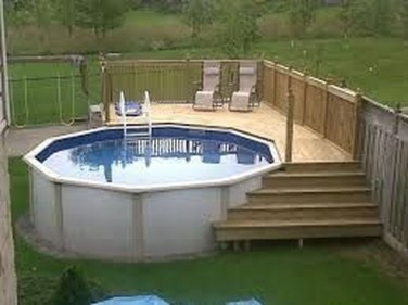 Affordable Ground Pool Landscaping Ideas08