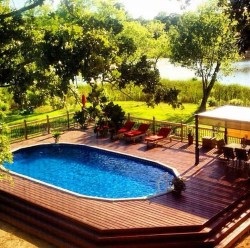 Affordable Ground Pool Landscaping Ideas15